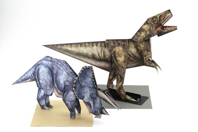バラ 折り紙:ティラノサウルス 折り紙-olshop.origamihouse.jp