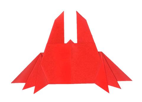 ハート 折り紙 かに 折り紙 : olshop.origamihouse.jp
