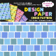 DESIGN PAPER check pattern